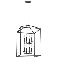 Sea Gull Lighting Perryton 8 Light Hall Foyer in Blacksmith 5115008-839