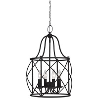 Sea Gull Turbinio 4 Light Hall/Foyer Pendant in Blacksmith 5116404-839