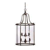 Gillmore 6 Light 17 inch Heirloom Bronze Hall/Foyer Pendant Ceiling Light