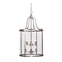 Sea Gull Gillmore 6 Light Hall/Foyer Pendant in Brushed Nickel 5118406-962