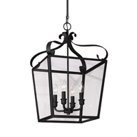 Lockheart 4 Light 14 inch Blacksmith Foyer Light Ceiling Light