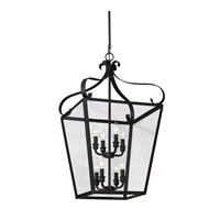 Lockheart 8 Light 18 inch Blacksmith Hall/Foyer Pendant Ceiling Light