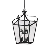 Lockheart 8 Light 18 inch Blacksmith Foyer Light Ceiling Light