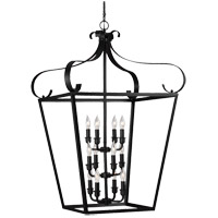 Lockheart 12 Light 25 inch Blacksmith Foyer Pendant Ceiling Light