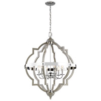 Steel Socorro Foyer Pendants