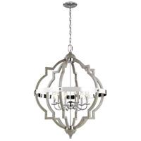 Sea Gull 5124906EN-872 Socorro LED 25 inch Washed Pine Hall Foyer Ceiling Light