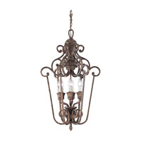 Sea Gull Lighting Highlands 6 Light Foyer Pendant in Regal Bronze 51251-758