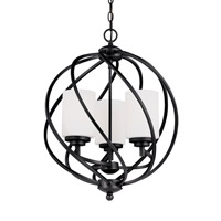 Goliad 3 Light 18 inch Blacksmith Foyer Light Ceiling Light