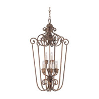 Highlands 9 Light 28 inch Regal Bronze Foyer Pendant Ceiling Light