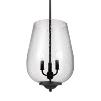 Morill 3 Light 12 inch Blacksmith Foyer Light Ceiling Light