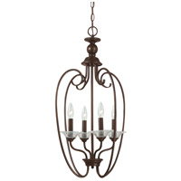 Lemont 4 Light 16 inch Burnt Sienna Foyer Pendant Ceiling Light