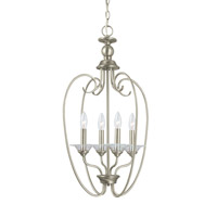 Lemont 4 Light 16 inch Antique Brushed Nickel Foyer Light Ceiling Light