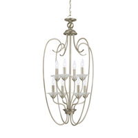 Lemont 8 Light 20 inch Antique Brushed Nickel Foyer Light Ceiling Light