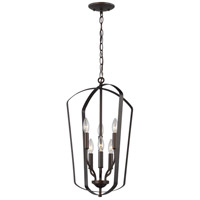 Sea Gull 5134906-782 Romee 6 Light 15 inch Heirloom Bronze Hall Foyer Ceiling Light