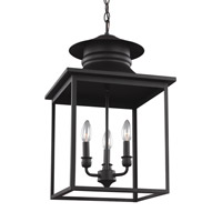 Huntsville 3 Light 14 inch Blacksmith Foyer Light Ceiling Light