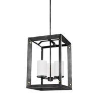 Chatauqua 3 Light 14 inch Stardust Foyer Pendant Ceiling Light