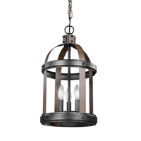 Lonoke 3 Light 11 inch Stardust Foyer Light Ceiling Light