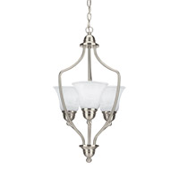 Signature 3 Light 15 inch Brushed Nickel Foyer Light Ceiling Light