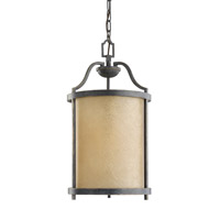 Roslyn 1 Light 11 inch Flemish Bronze Foyer Light Ceiling Light