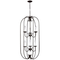 Sea Gull 51807-782 Holman 6 Light 18 inch Heirloom Bronze Foyer Pendant Ceiling Light