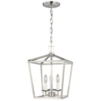 Brushed Nickel Steel Dianna Mini Pendants