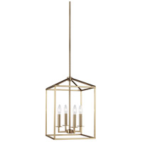 Satin Bronze Steel Perryton Foyer Pendants