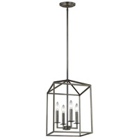 Sea Gull 5215004EN-782 Perryton 4 Light 12 inch Heirloom Bronze Foyer Pendant Ceiling Light