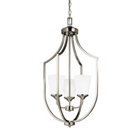 Hanford 3 Light 18 inch Brushed Nickel Foyer Pendant Ceiling Light