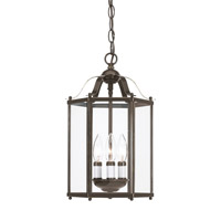 Sea Gull 5231EN-782 Bretton 3 Light 10 inch Heirloom Bronze Convertible Pendant Ceiling Light