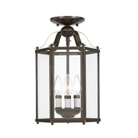 Sea Gull 5231-782 Bretton 3 Light 10 inch Heirloom Bronze Pendant Convertible Ceiling Light alternative photo thumbnail