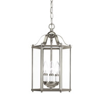 Sea Gull 5231EN-962 Bretton 3 Light 10 inch Brushed Nickel Convertible Pendant Ceiling Light