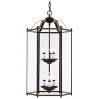 Bretton 6 Light 17 inch Heirloom Bronze Foyer Pendant Ceiling Light