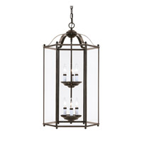 Bretton 6 Light 17 inch Heirloom Bronze Foyer Light Ceiling Light