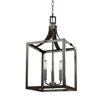 Steel Labette Foyer Pendants