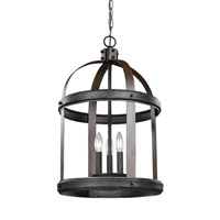 Lonoke 3 Light 14 inch Stardust Foyer Light Ceiling Light