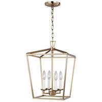 Sea Gull 5292604-848 Dianna 4 Light 13 inch Satin Brass Pendant Ceiling Light