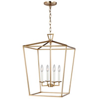 Sea Gull 5392604-848 Dianna 4 Light 17 inch Satin Bronze Pendant Ceiling Light