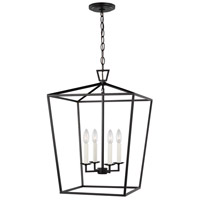Sea Gull 5392604EN-112 Dianna LED 17 inch Midnight Black Pendant Ceiling Light