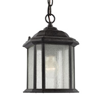 Sea Gull Lighting Kent 1 Light Outdoor Pendant in Oxford Bronze 60029-746