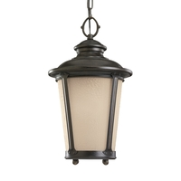 Cape May LED 11 inch Burled Iron Outdoor Pendant