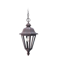 Sea Gull Lighting Brentwood 1 Light Outdoor Pendant in Sienna 6025-26 photo thumbnail