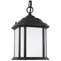 Kent 1 Light 7 inch Black Outdoor Pendant in Fluorescent