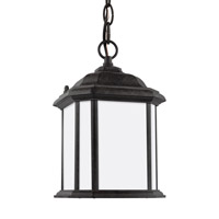 Sea Gull 60529EN3-746 Kent 1 Light 7 inch Oxford Bronze Outdoor Semi-Flush Convertible Pendant