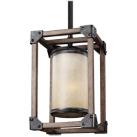 Dunning 1 Light 6 inch Stardust Mini Pendant Ceiling Light in Standard