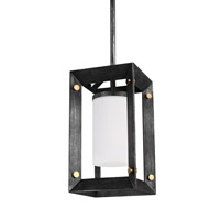 Sea Gull 6140501EN3-846 Chatauqua 1 Light 6 inch Stardust Pendant Ceiling Light