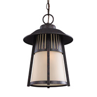 Hamilton Heights 1 Light 11 inch Oxford Bronze Outdoor Pendant