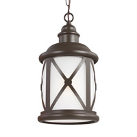 Lakeview 1 Light 8 inch Antique Bronze Outdoor Pendant