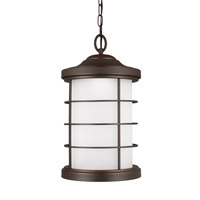 Sauganash LED 10 inch Antique Bronze Outdoor Pendant