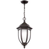 Sea Gull 6229301-71 Galvyn 1 Light 10 inch Antique Bronze Outdoor Pendant