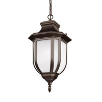 Childress 1 Light 9 inch Antique Bronze Outdoor Pendant